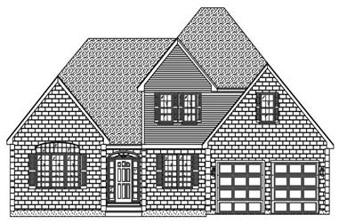 4-Bedroom, 2604 Sq Ft Cape Cod House Plan - 110-1191 - Front Exterior