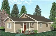 View house Plan#111-1003