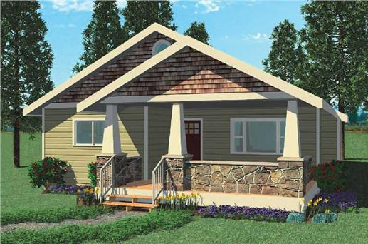 Bungalow Houseplans - Home Design Quail Run