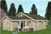 View house Plan#111-1008