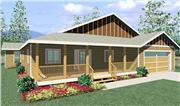 View house Plan#111-1010
