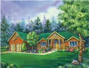 View house Plan#111-1012