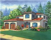 View house Plan#111-1014