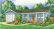 View house Plan#111-1016