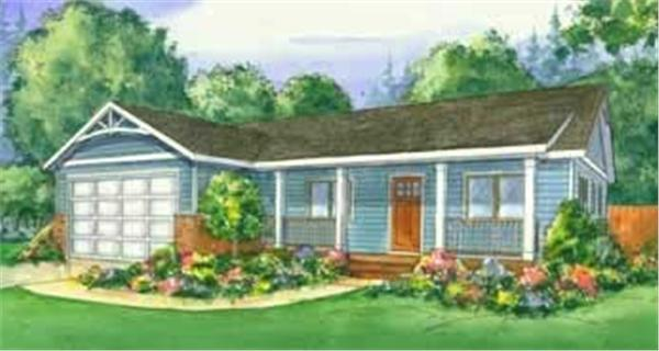 This is the colored rendering of the Greenwood Ranch Homeplans.