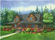 View house Plan#111-1034