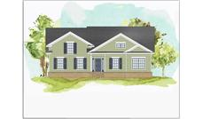 This is a colored rendering of these Traditional Houseplans.