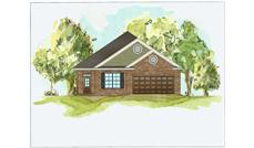 This is a front elevation of these great Bungalow Homeplans.