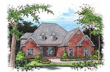 4-Bedroom, 3356 Sq Ft Luxury Home Plan - 113-1003 - Main Exterior