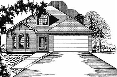 Main image for house plan # 5972