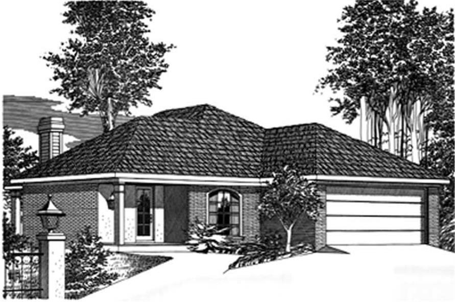 Main image for house plan # 5973