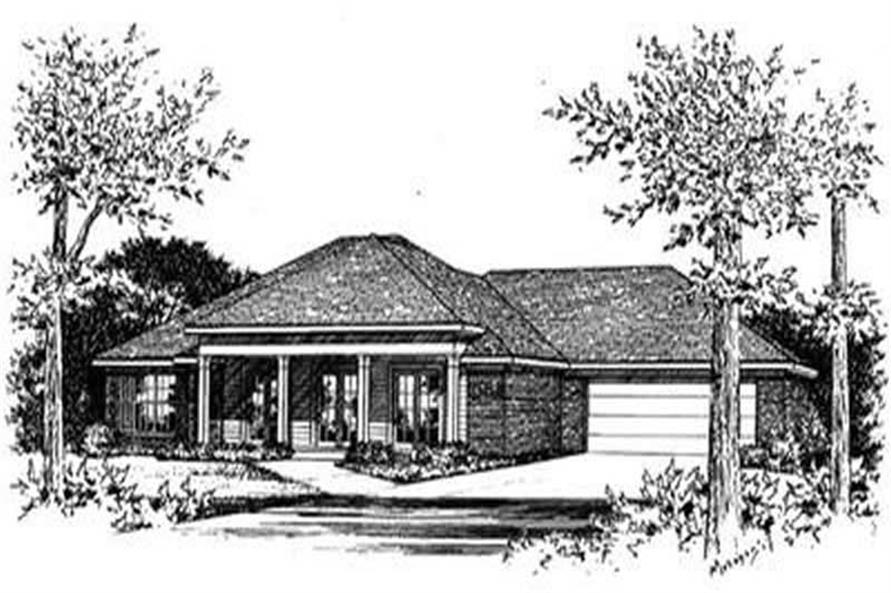 Main image for house plan # 5976