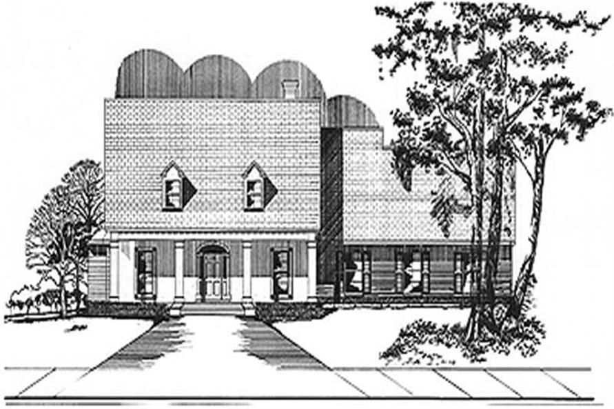 Main image for house plan # 6009