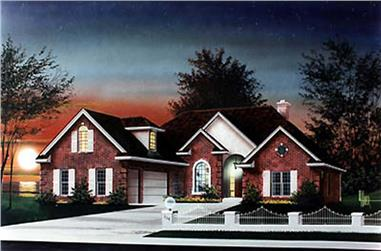 Main image for house plan # 5996