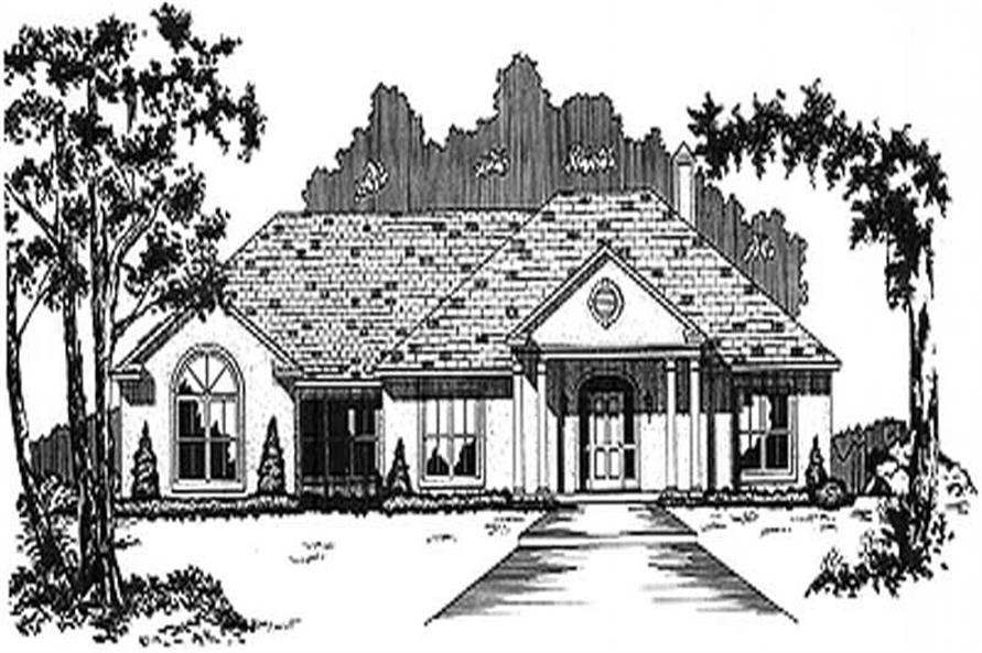 Main image for house plan # 5991