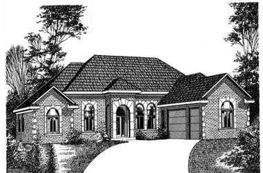 Main image for house plan # 6024