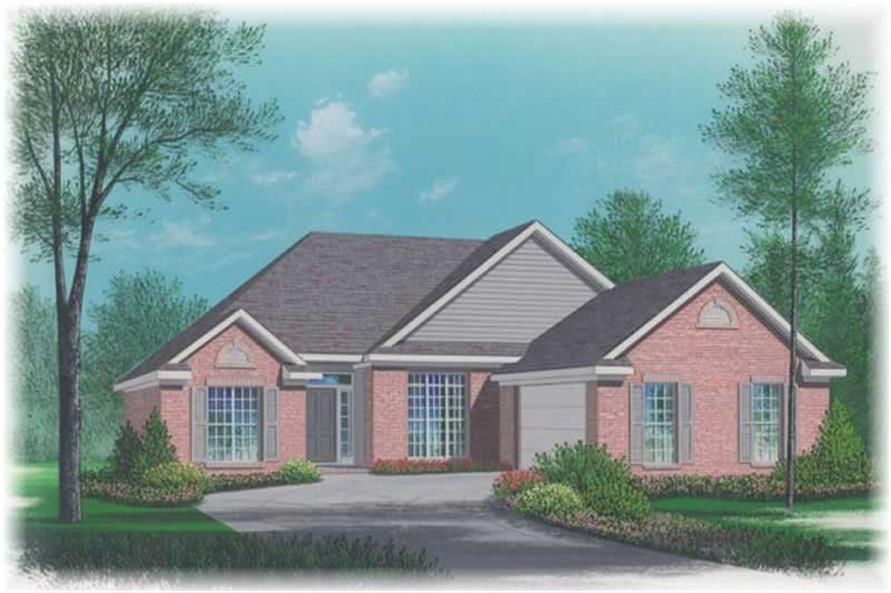Main image for house plan # 5978