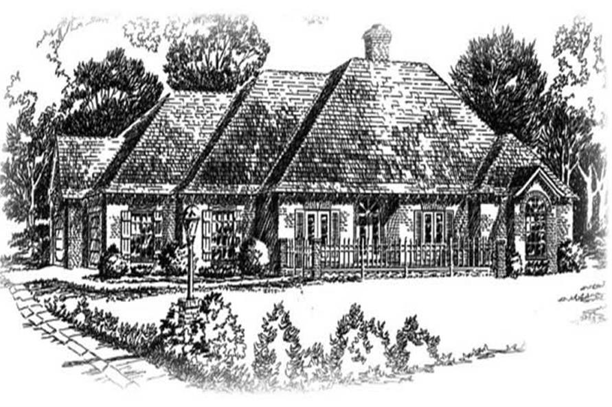 Main image for house plan # 5985