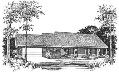 Main image for house plan # 5980