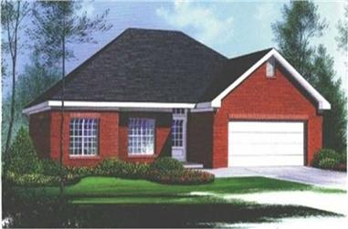Main image for house plan # 5974