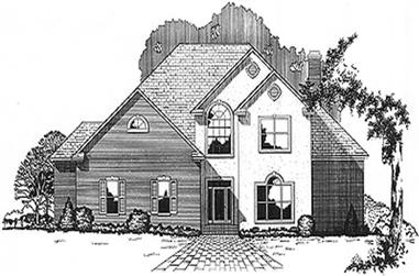 4-Bedroom, 3600 Sq Ft Luxury Home Plan - 113-1039 - Main Exterior
