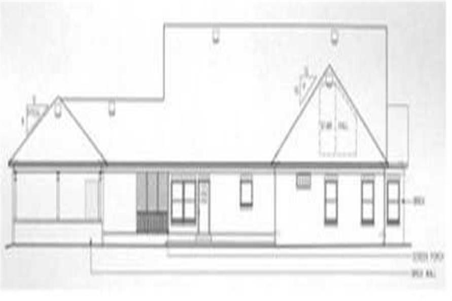 Ranch home with 3 bedrooms 2522 sq ft floor plan 113 for 1040 square foot house plans