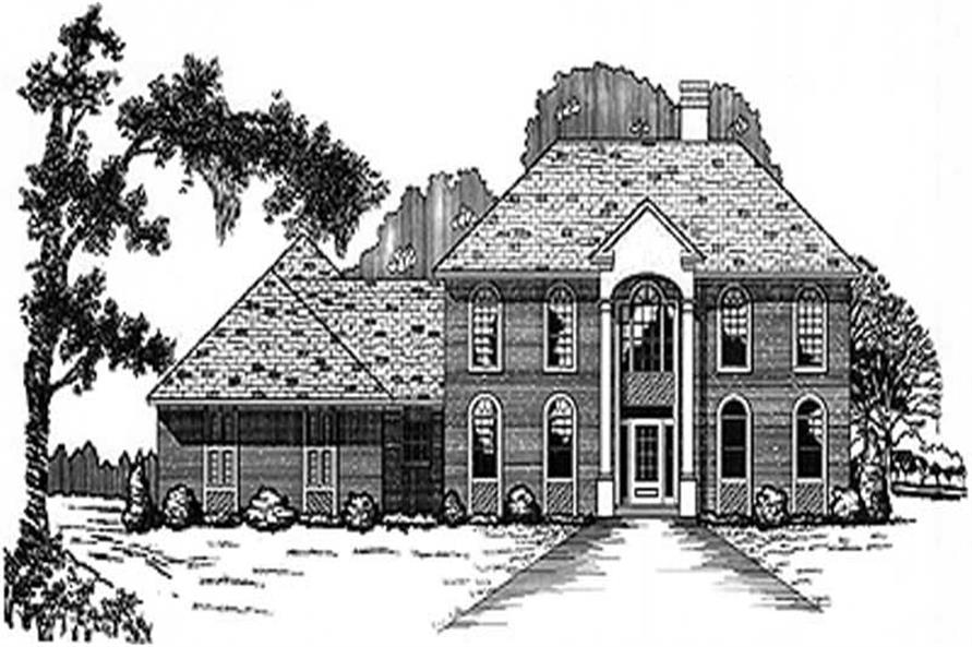 Main image for house plan # 6028
