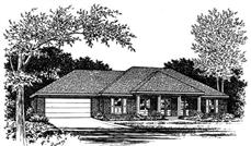 Main image for house plan # 5981