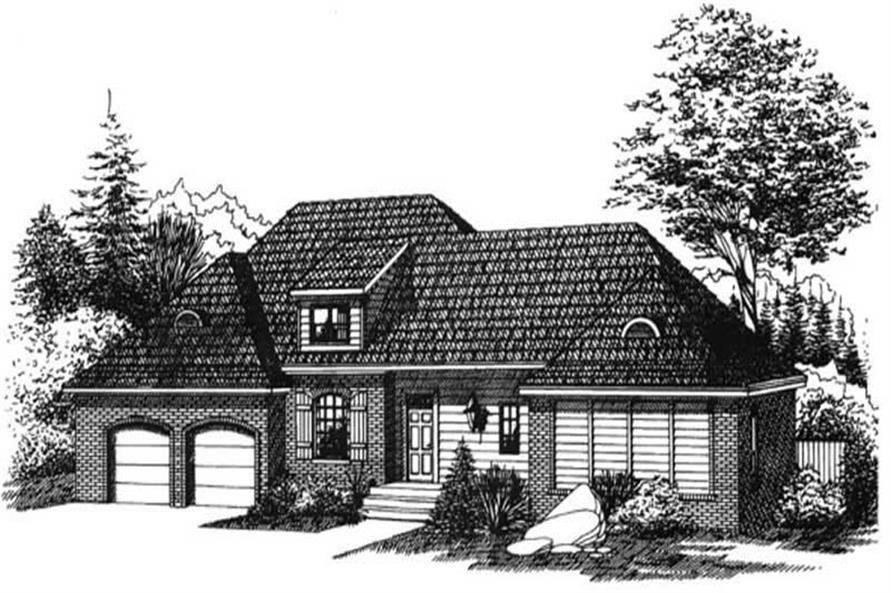 Main image for house plan # 6000