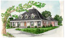 Main image for house plan # 6007