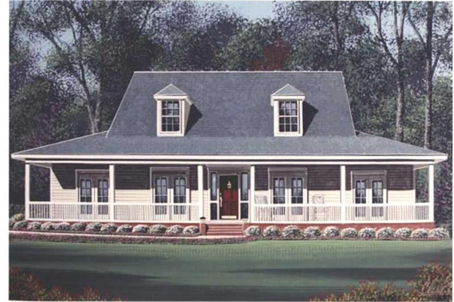 Main image for house plan # 6014