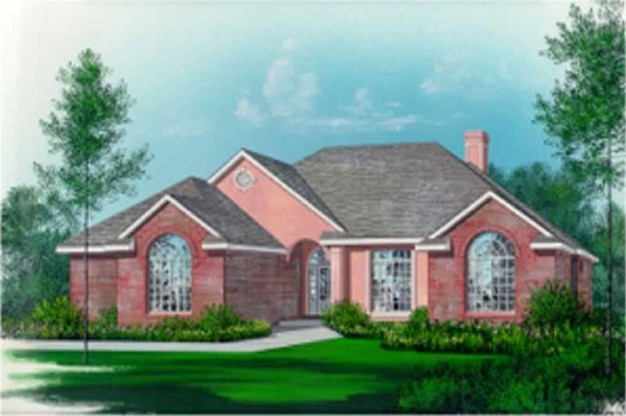 Main image for house plan # 5999
