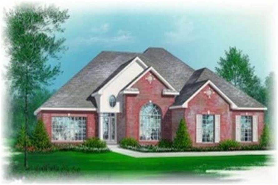 Main image for house plan # 5995