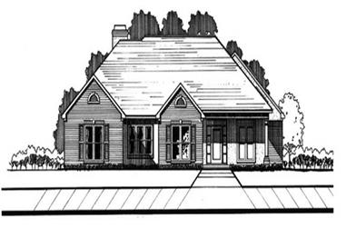 3-Bedroom, 2603 Sq Ft Traditional House Plan - 113-1055 - Front Exterior