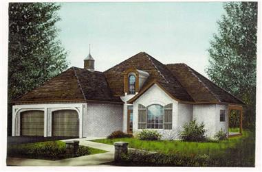 Main image for house plan # 5988