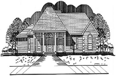Main image for house plan # 5989