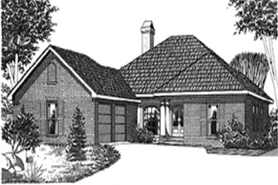 Main image for house plan # 5992