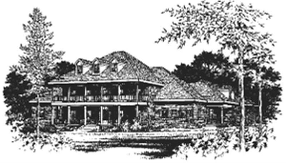 Main image for house plan # 6044