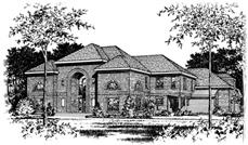Main image for house plan # 6043