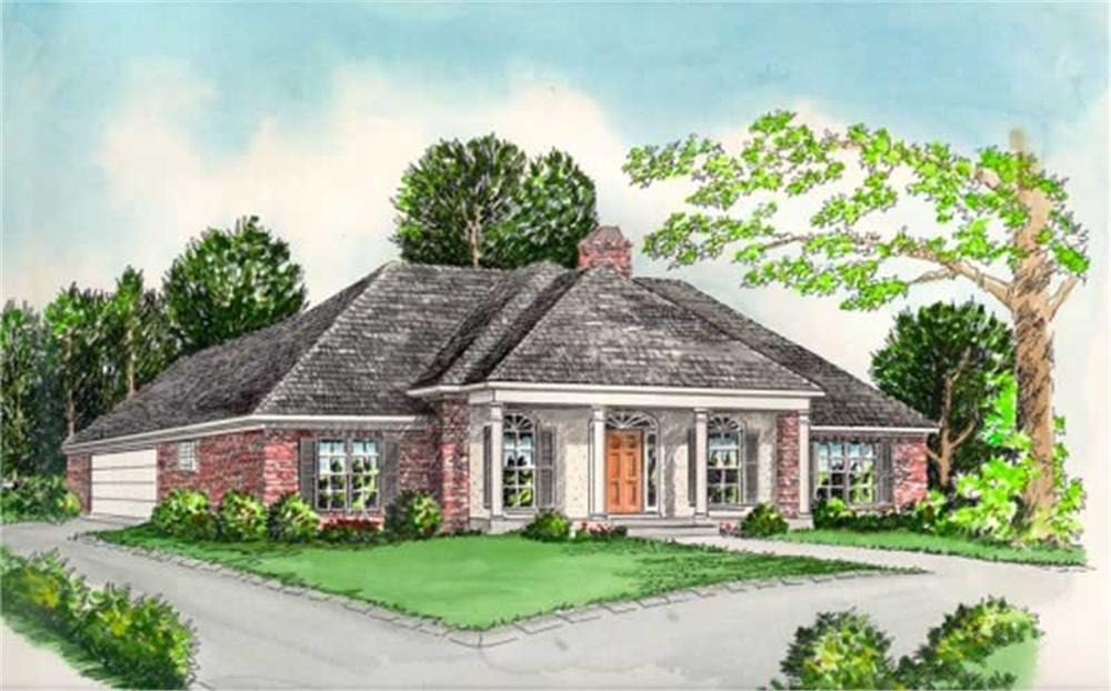 Main image for house plan # 6004