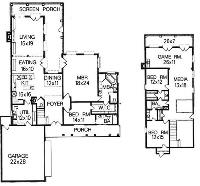 Mediterranean ranch home with 4 bedrms 3551 sq ft for 1077 marinaside crescent floor plan