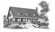 Main image for house plan # 6018