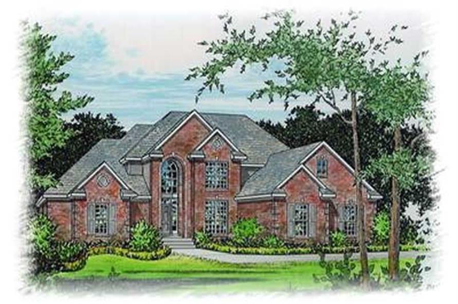 Main image for house plan # 6016