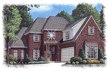 4-Bedroom, 3450 Sq Ft Luxury Home Plan - 113-1083 - Main Exterior