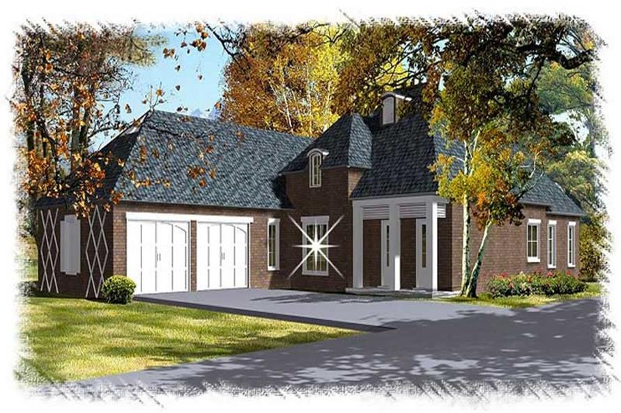 Main image for house plan # 9512
