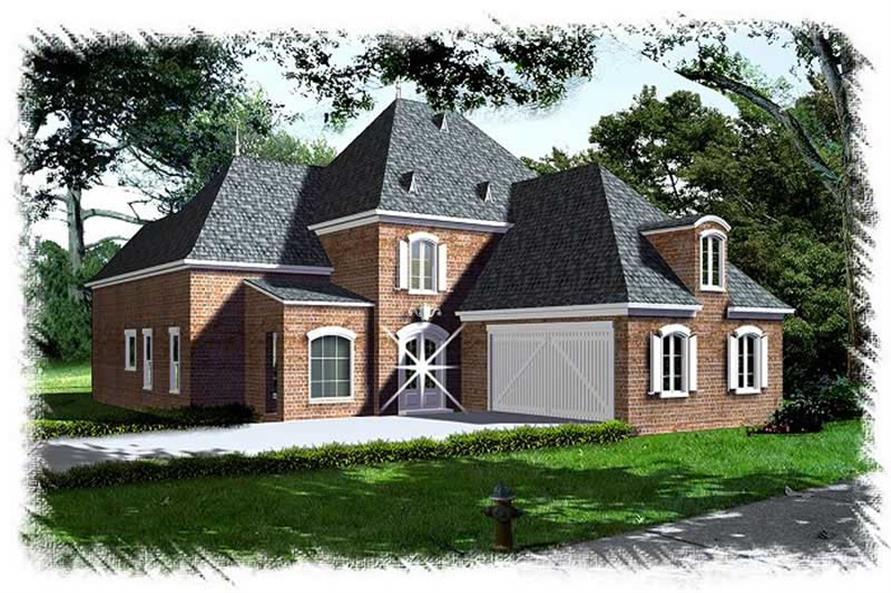 Main image for house plan # 9502