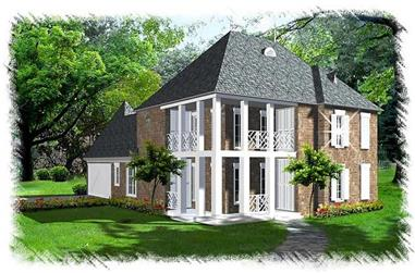 Main image for house plan # 9522
