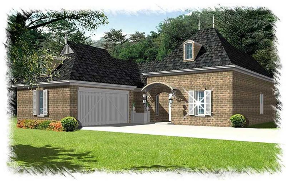 Main image for house plan # 9516