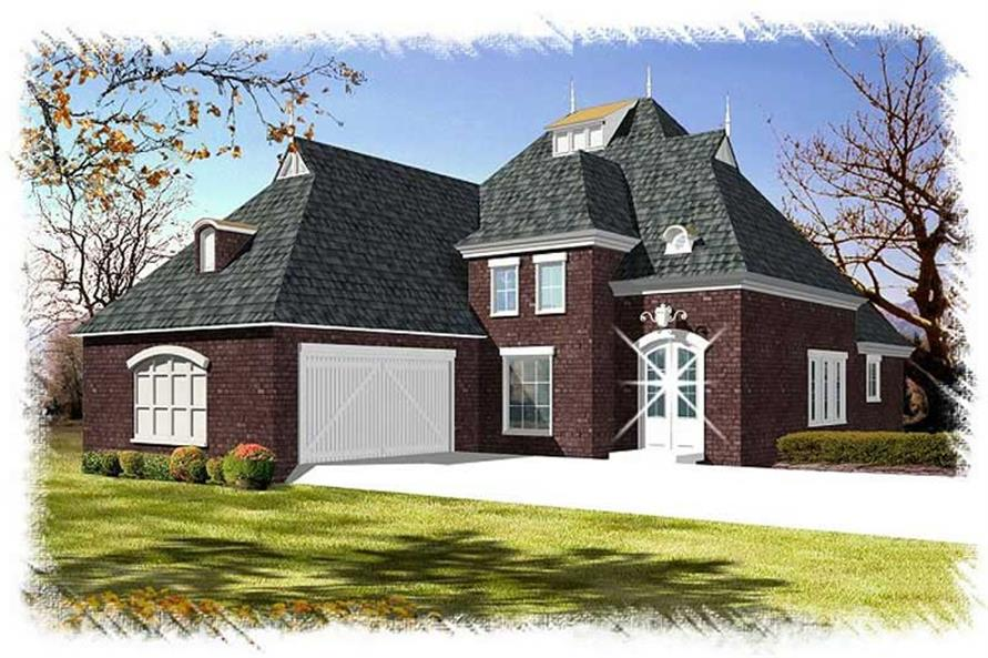 Main image for house plan # 9519