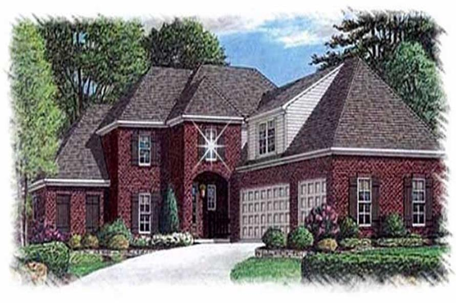 Main image for house plan # 9499